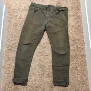 Bullhead Skinny Jeans - Olive Green